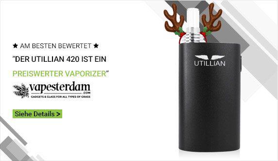 Utillian 420 Vaporizer - TVAPE Deutschland