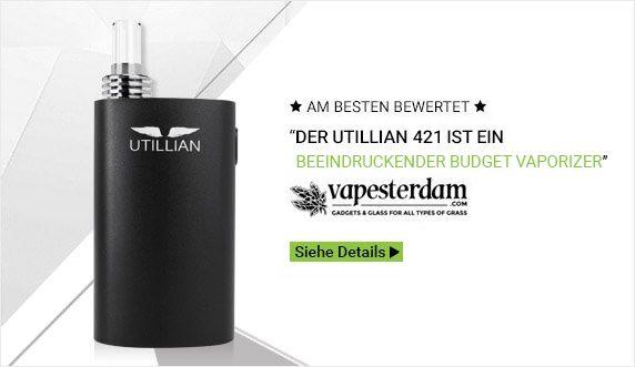 Utillian 421 Vaporizer - TVAPE Deutschland