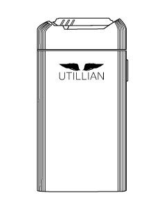 Utillian 721 Vaporizer outline graphic